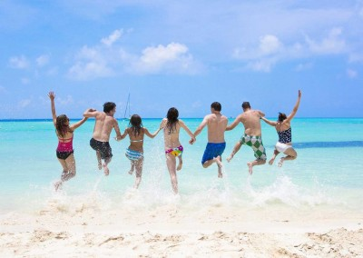 Beach Fun for groups, teams, friends and families