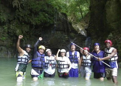 Canyoning in the Dominican Republic with DOMINICAN EXPERT