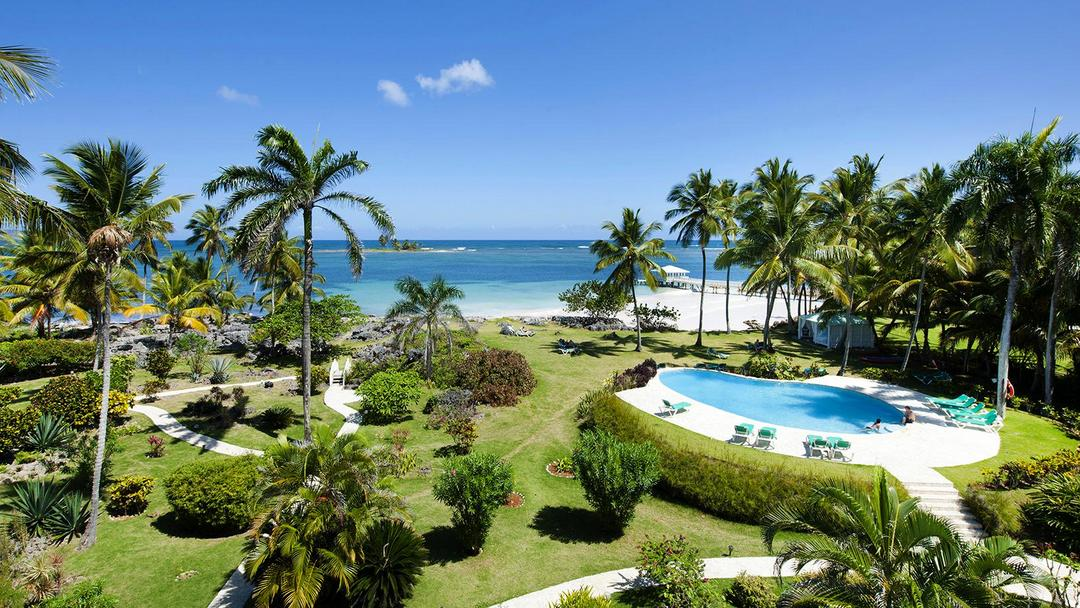 Hotel Villa Serena in Las Galeras on the Samana peninsula