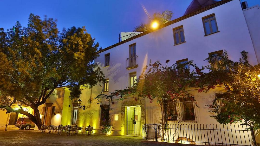 The historical Billini Hotel in the Zona Colonial of Santo Domingo