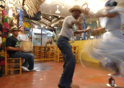 A typical dance in the Dominican Republic