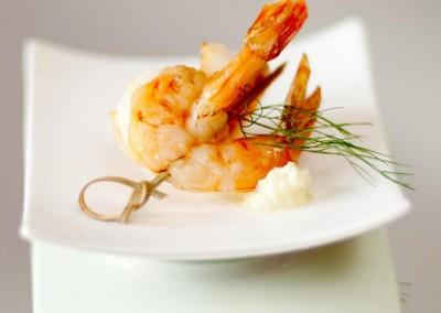 Sanchez Shrimp Appetizer from MI CORAZON Catering