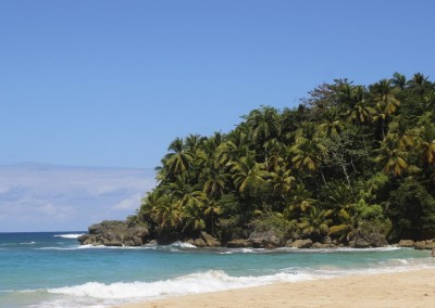 Playa Grande, one of the famous beaches in the North of the Dominican Republic
