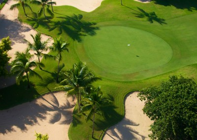 Hole 9 at the Cocotal Golf & Country Club