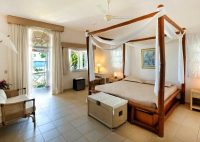 Bedroom in the Villa Serena, Las Galeras