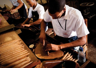 Cigar production