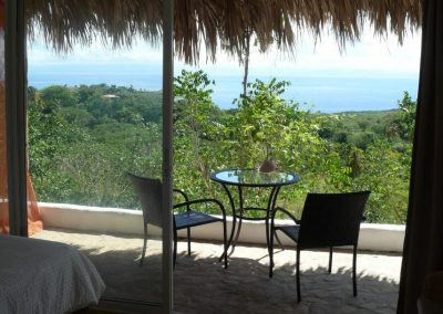 Sea View from the Balcony at Samana Ocean View Eco Lodge