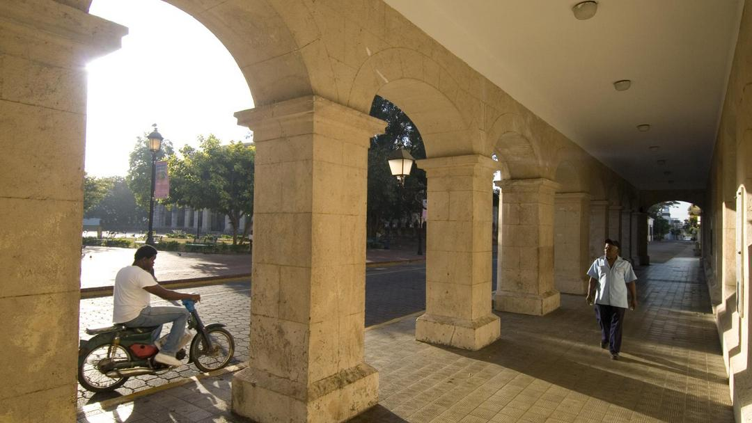 Streetscene, Santo Domingo.