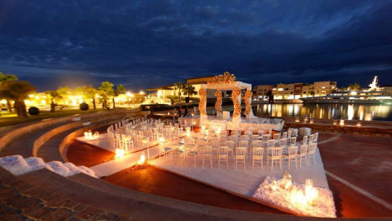 Amphitheater for Destination Weddings