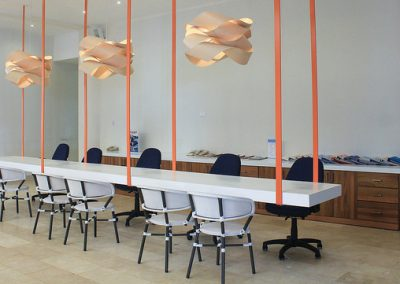 Meeting facilities for corporate groups