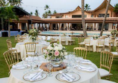 Hochzeit in einer Luxusvilla