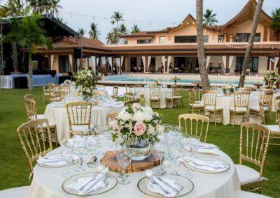 Hochzeitsdekoration bei Dominican Expert