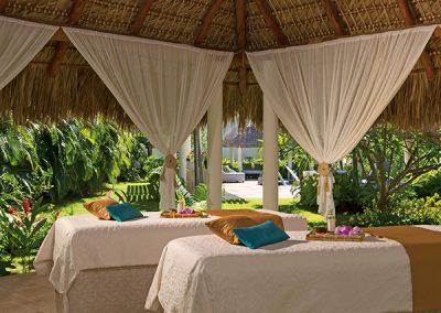Massage im Secrets Royal Beach, Domnikanische Republik