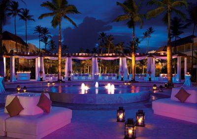 Plaza im Secrets Royal Beach, Domnikanische Republik