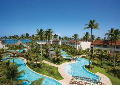 Pools im Secrets Royal Beach, Domnikanische Republik