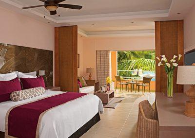 Junior Suite Sonnenterrasse im Secrets Royal Beach, Domnikanische Republik