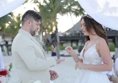 Hochzeitszeremonie in Punta Cana, Dominikanische Republik