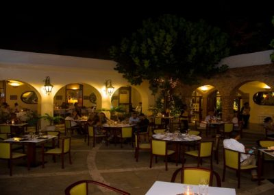 Koloniales Restaurant in Santo Domingo