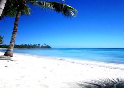 Strand auf Saona