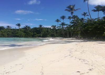 Strand in Las Galeras