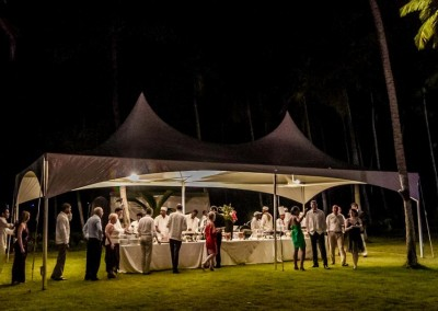A delicious evening buffet from WICKED Events and Travel