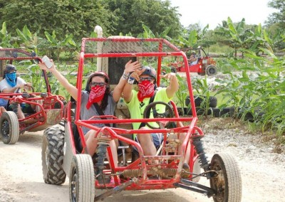 A buggy adventure tour with WICKED Travel