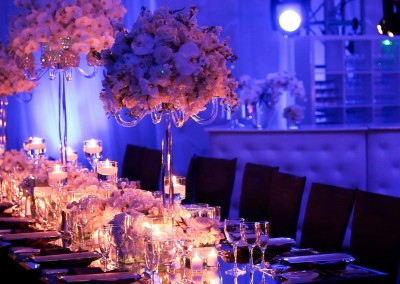 Table decoratin for an Event organized by WICKED Events