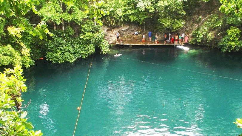 Laguna El Dudu: Heidenspaß für Wagemutige & Angsthasen zugleich