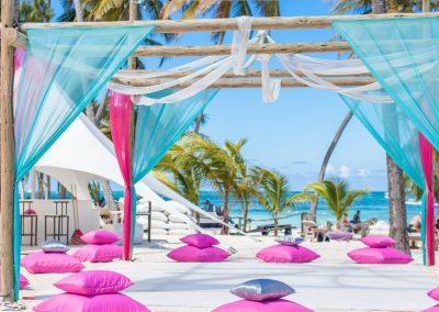 Destination Wedding Beach Area