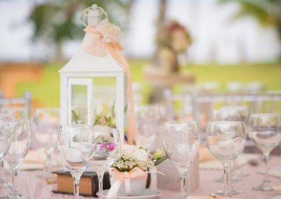 Vintage wedding decoration elements